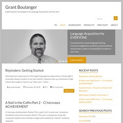 BLOG – Grant Boulanger