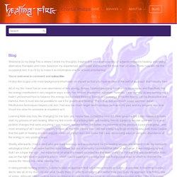 Blog - Healing Fire