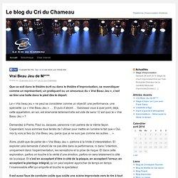 Blog le cri du chameau