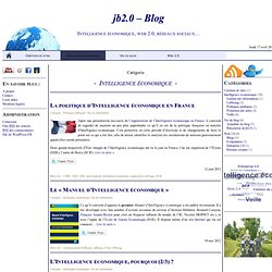 jb2.0 – Blog » Intelligence économique