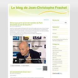 Le blog de Jean-Christophe Frachet