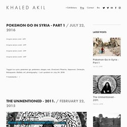 Blog — KHALED AKIL