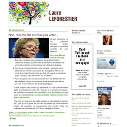 Blog de Laure Leforestier