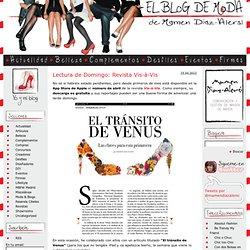 El Blog de Moda » Lectura de Domingo: Revista Vis-à-Vis