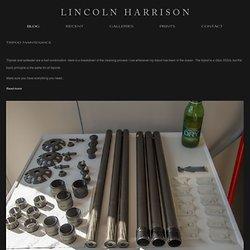 BLOG — Lincoln Harrison