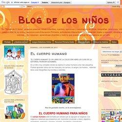 Blog de los niños: El cuerpo humano