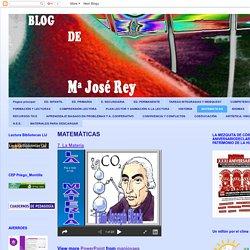 Blog de Mª José Rey: MATEMÁTICAS