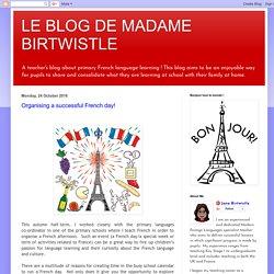 LE BLOG DE MADAME BIRTWISTLE: October 2016