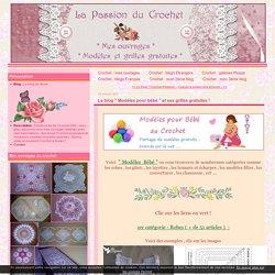 """Le blog """" Modèles pour bébé """" et ses grilles gratuites !"""