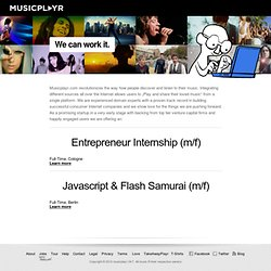 ‎blog.musicplayr.com/jobs