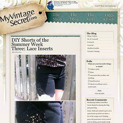 Blog | My Vintage Secret