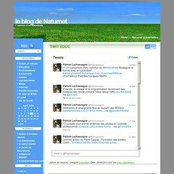 le blog de Naturnet