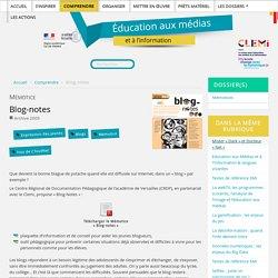 Blog-notes - Éducation aux médias
