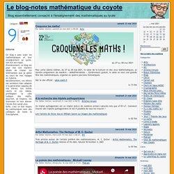 Le blog-notes mathématique du coyote