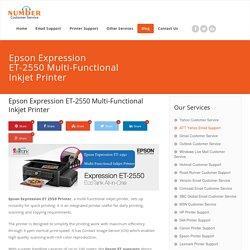 Epson Expression ET-2550 Multi-Functional Inkjet Printer