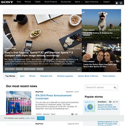 Sony Ericsson - Corporate - Products - Phoneportfolio - Specific