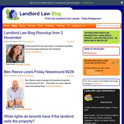 Blog posts - Page 2 of 325 - The Landlord Law Blog
