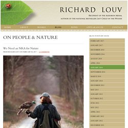 Blog - Richard Louv