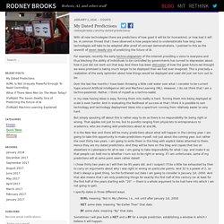 Blog – Rodney Brooks