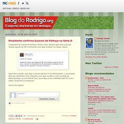 Blog do Rodrigo