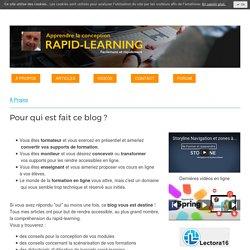 Blog - Se former et apprendre !