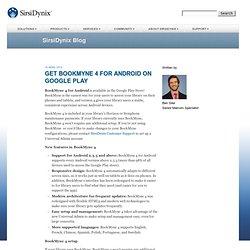 SirsiDynix.com - user's blog