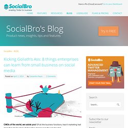 SocialBro Official Blog