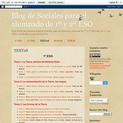Blog de Sociales para el alumnado de 1º y 2º ESO: TEXT0S