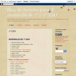Blog de Sociales para el alumnado de 1º y 2º ESO: 1º ESO
