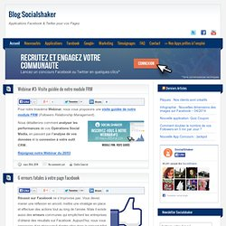 Blog Socialshaker - Part 2