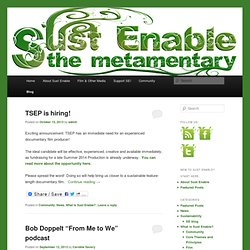 Sust Enable: The Metamentary