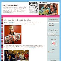 BLOG.SUZANNEMCNEILL.COM: Fun, fun, fun at Art of the Carolinas