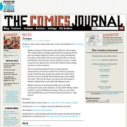 Blog | The Comics Journal