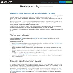 Blog Diaspora Foundation