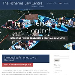 The Fisheries Law Centre