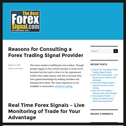 Blog – The Best Forex Signal