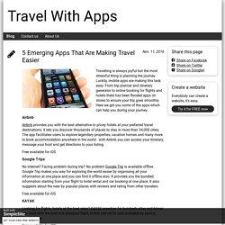 Blog - travelwithappz.simplesite.com