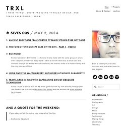 Blog — TRXL