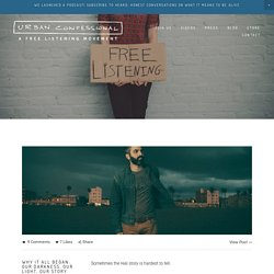 Blog — Urban Confessional