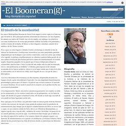 Blog de Vicente Verdú