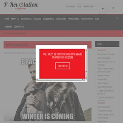 Blog - Winter Vaping Tips
