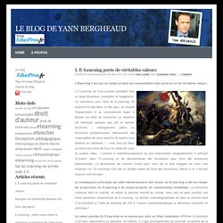 le Blog de Yann BERGHEAUD