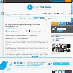 Le BlogDuWebdesign boost l'inspiration des intégrateurs #4 - inspiration-integration