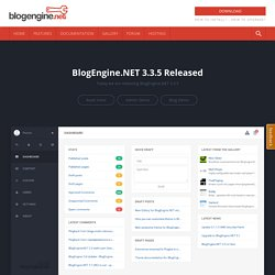 BlogEngine.NET | An open source ASP.NET 2.0 powered blogging eng