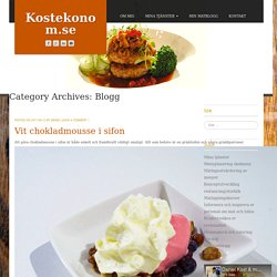 Blogg Archives - Kostekonom.se