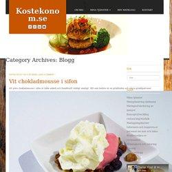 Blogg Archives - Kostekonom.se
