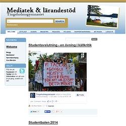 Blogg - Mediatek & lärandestöd