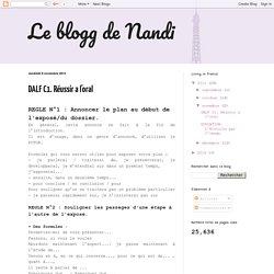 Le blogg de Nandi: DALF C1. Réussir a l'oral