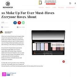 Style Bloggers Re-Create The Runway's Coolest Trends With Make Up For Ever
