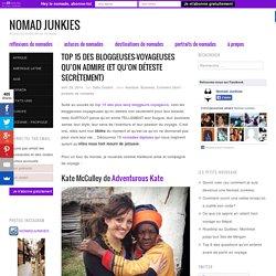Top 15 des bloggeuses-voyageuses qu'on admire (et qu'on déteste secrètement) - Nomad Junkies